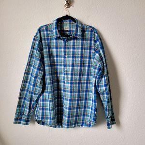 J.CREW Secret Wash Long Sleeve Button Down Shirt